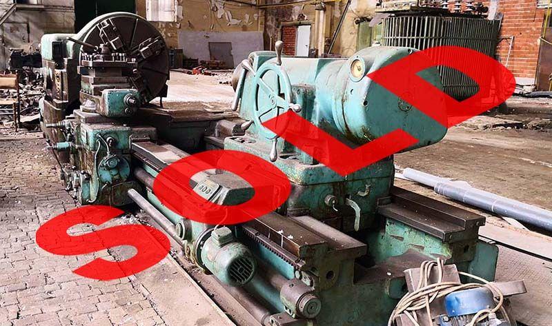 Heavy Lathe SKODA SRM 100 x 3000