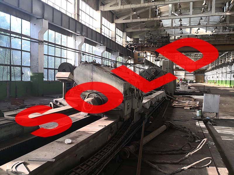 KRAMATORSK 1A665 heavy lathe