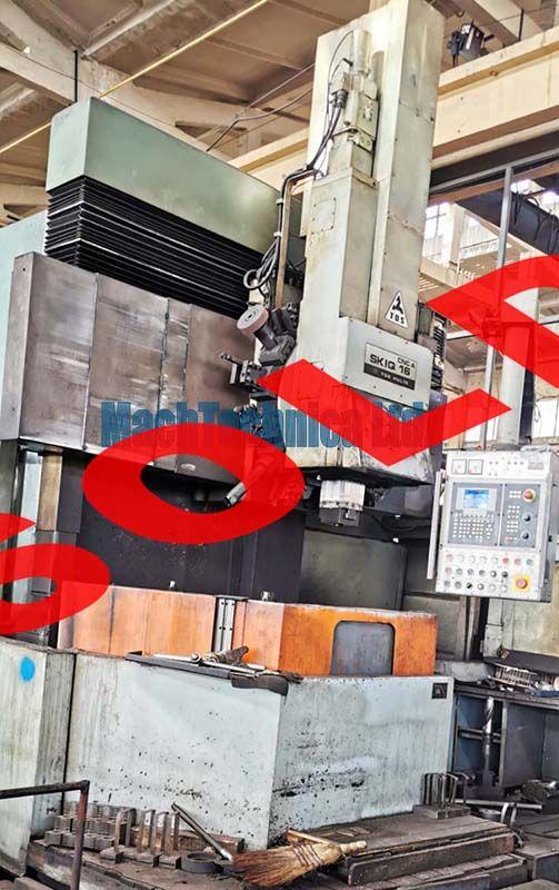 TOS Hulin SKIQ 16 CNC Vertical Turret Late