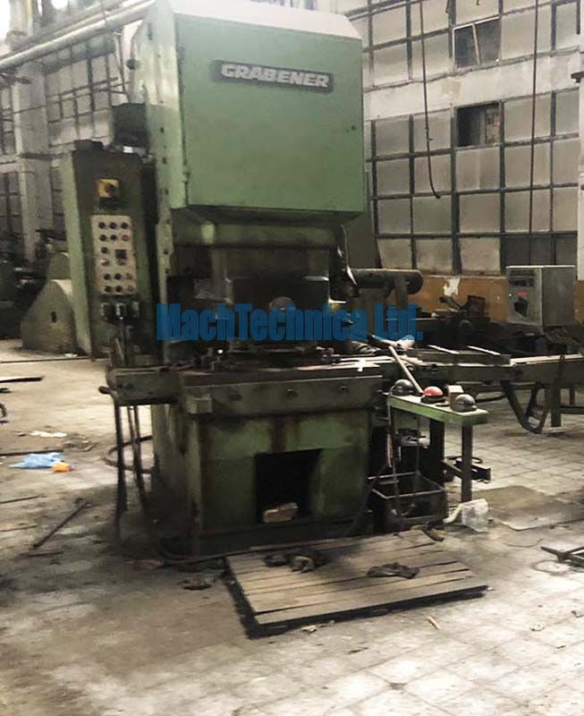 GRABENER PR-80 mechanical press