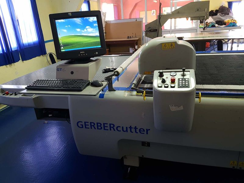 GERBER GTxL cutting and SY-51 Spreading machine: MachTechnica