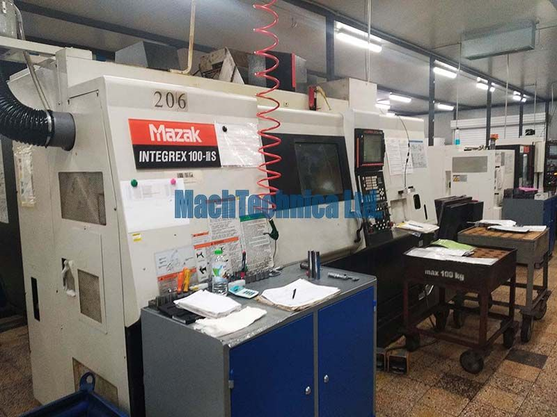 MAZAK Integrex 100- III S machining center