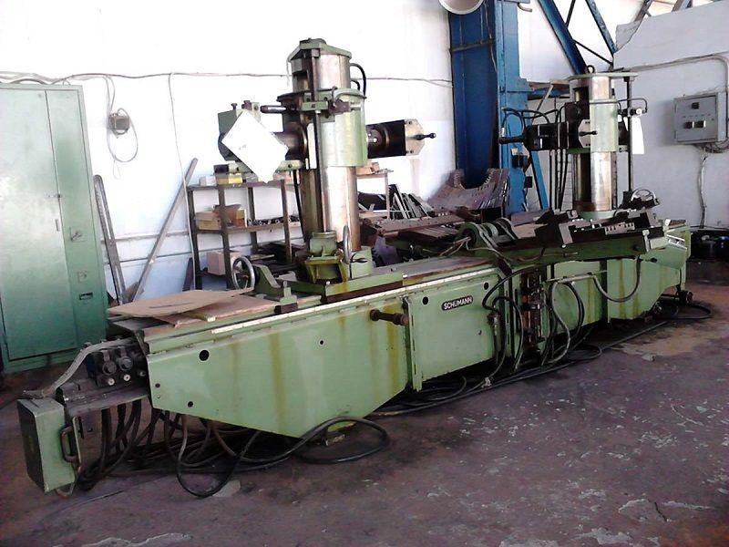 Hydraulic Coil Spreader : Coil spreader and forming machine heinrich schumann