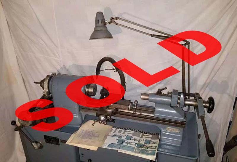 SCHAUBLIN 102- 80 Precision lathe