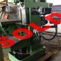 Universal Milling machine DECKEL FP4M
