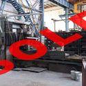 Gantry grinding machine MARUFUKU DP 130WDK